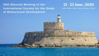 26th Biennial Meeting of the International Society for the Study  of Behavioural Development